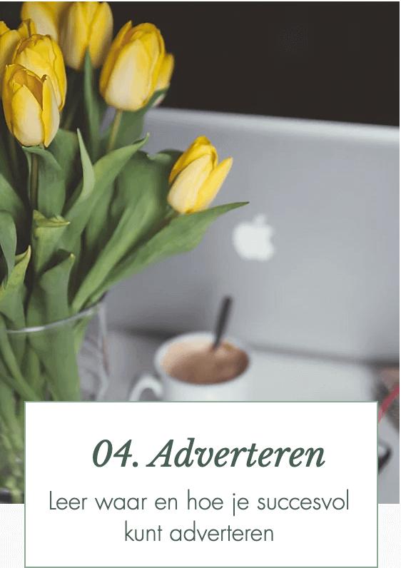 Online Training 'Een succesvolle marketingstrategie in 4 weken' module 4